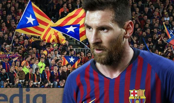 Lionel Messi asked if he considered leaving Barcelona after ...
