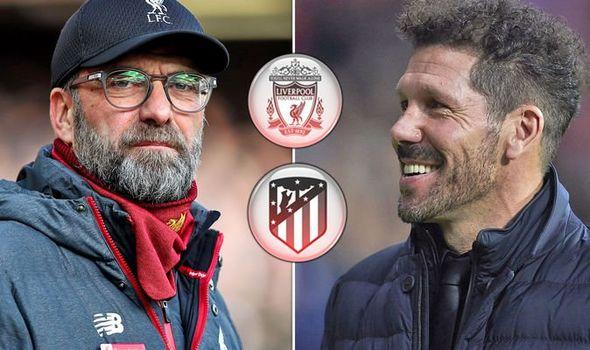 Liverpool Atletico Madrid Champions League draw news