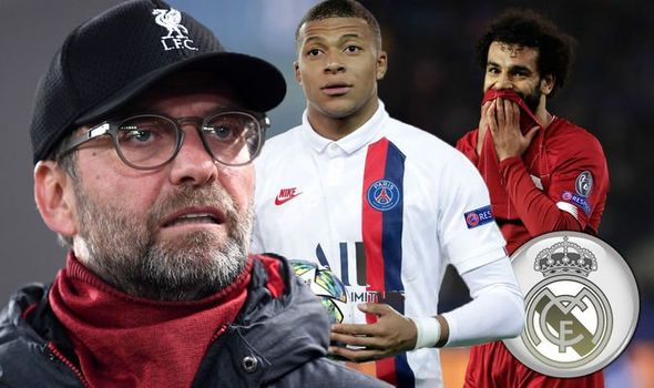 Liverpool target £215m PSG ace Kylian Mbappe as Real Madrid eye Mohamed Salah transfer