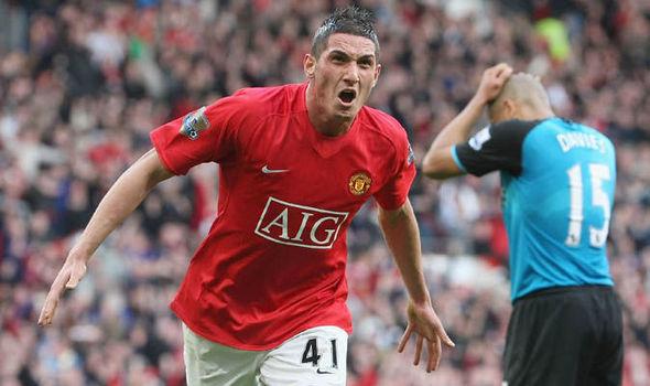 Manchester United Federico Macheda