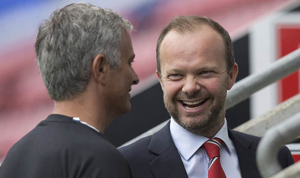 Image result for jose gave list of 5 players to ed woodward