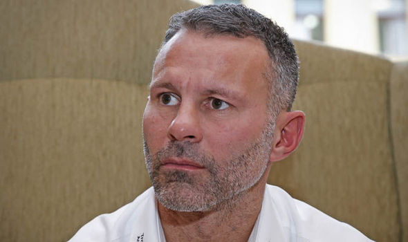 Ryan Giggs Manchester United Manchester City