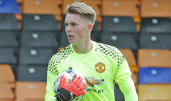 Manchester United loanee Dean Henderson