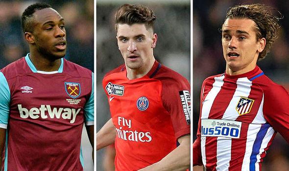 Antonio, Meunier and Griezmann to Man United