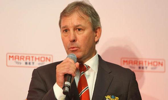 Manchester United legend Bryan Robson