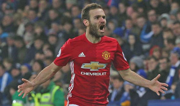 Manchester United star Juan Mata