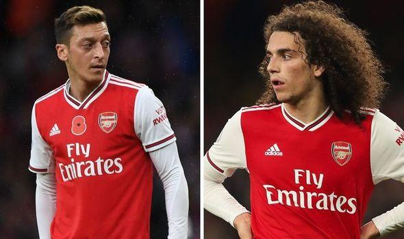 Arsenal boss Mikel Arteta sends Matteo Guendouzi and Mesut Ozil clear message
