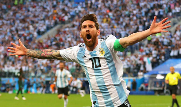 Messi-World Cup