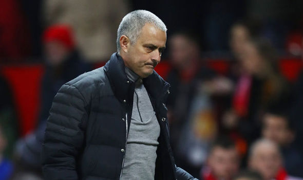 Manchester United boss Jose Mourinho after the game against Hull