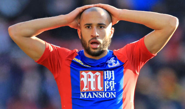 Andros Townsend Newcastle Crystal Palace