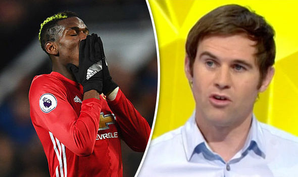 Paul Pogba and Kevin Kilbane