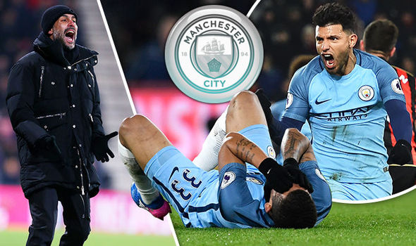 Pep Guardiola will be praying that Gabriel Jesus' injury isn't serious