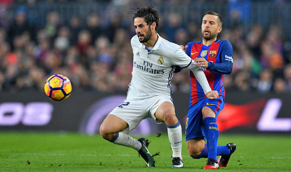 Real Madrid offer Isco a new contract