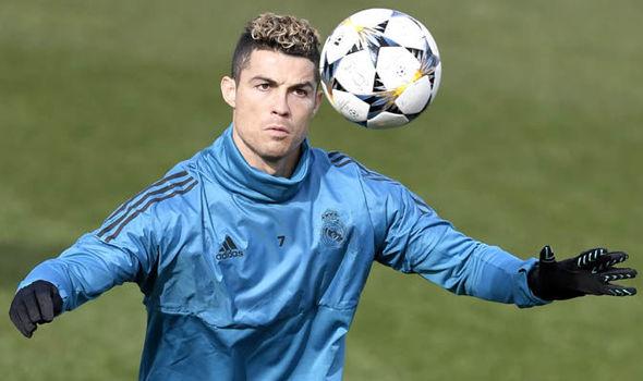 Real Madrid Cristiano Ronaldo PSG Champions League