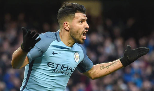 Sergio Aguero Real Madrid Manchester City