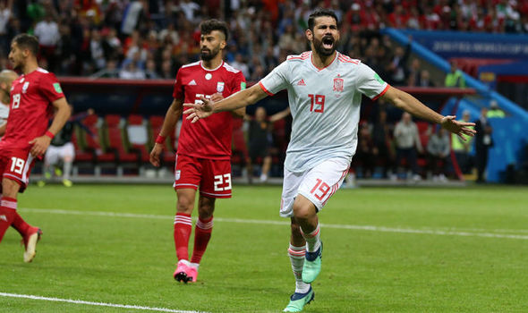 Diego Costa Restored Spain After A Struggle Against Iran