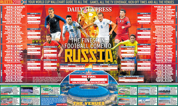 World cup wall chart also download your russia version for free now rh express