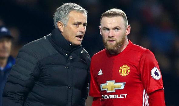 Wayne Rooney, Jose Mourinho
