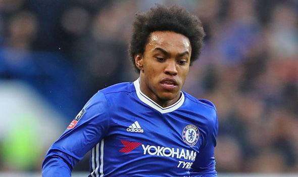 Chelsea attacker Willian