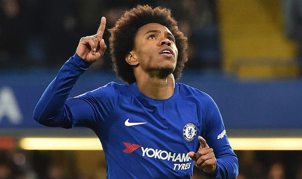Willian could be set to leave Chelsea in the summer