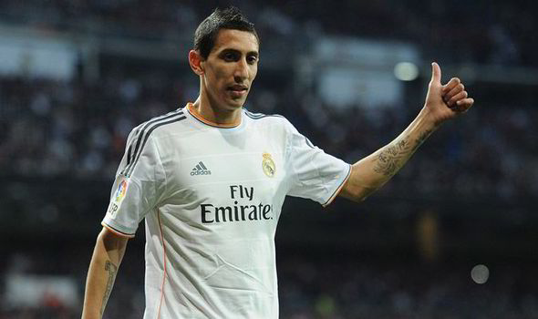 Angel di maria for real madrid