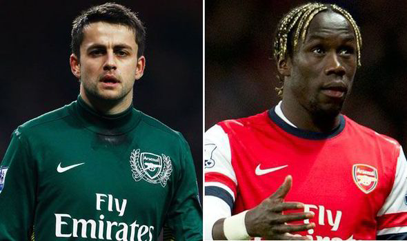 Lukasz Fabianski and Bacary Sagna are poised to leave Arsenal