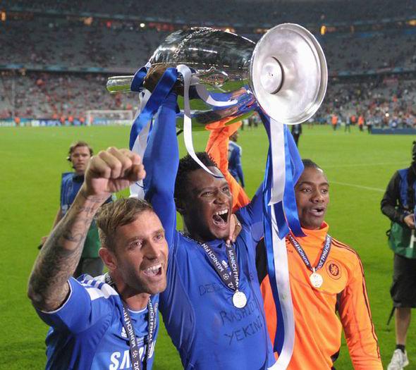 John Obi Mikel kicking the Europa League into touch | Football | Sport |  Express.co.uk