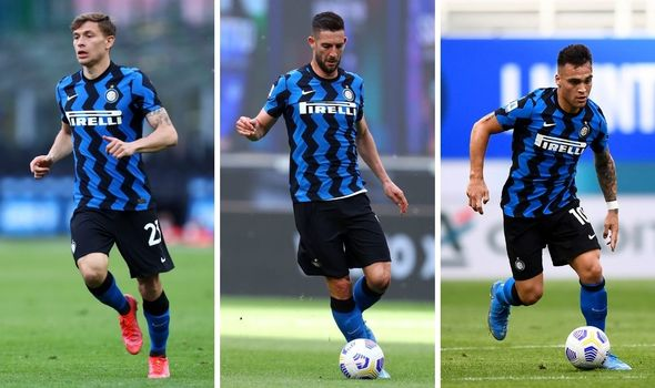 The Reds are said to be eyeing Barella, Gagliardini and Martinez