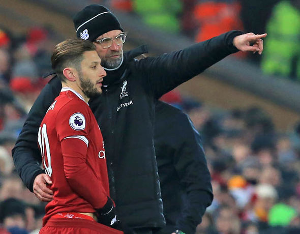 Adam Lallana made just one Premier League start for Liverpool this season