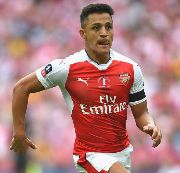 Alexis Sanchez's future at Arsenal remains up in the air