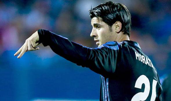 Alvaro Morata Real Madrid Leganes
