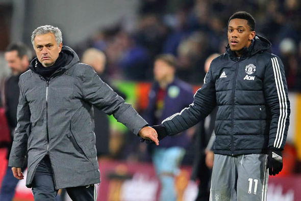Anthony Martial has only started 18 Premier League games under Jose Mourinho this season
