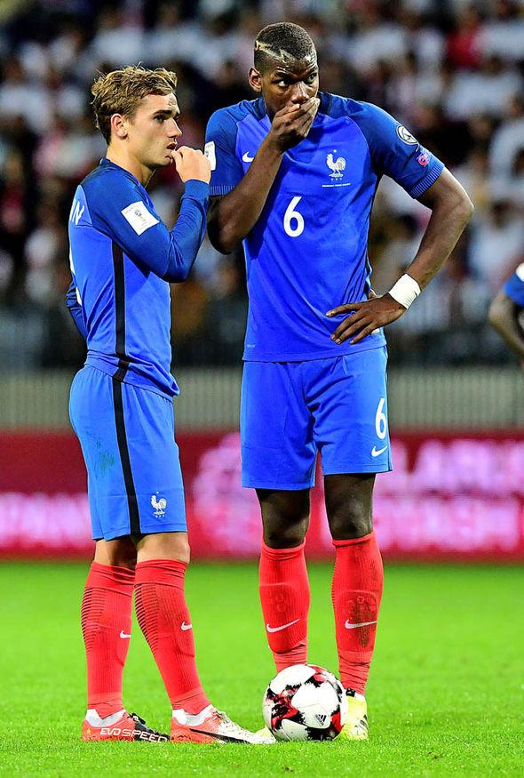 Antoine Griezmann Paul Pogba France