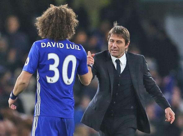 Antonio Conte David Luiz