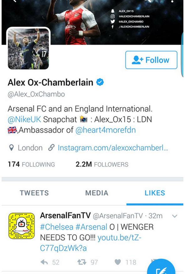 Alex Oxlade-Chamberlain