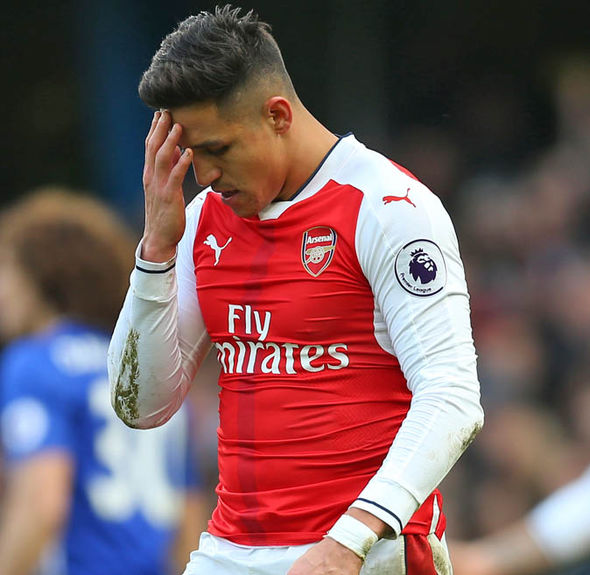 Arsenal fell 12 points behind league leaders Chelsea
