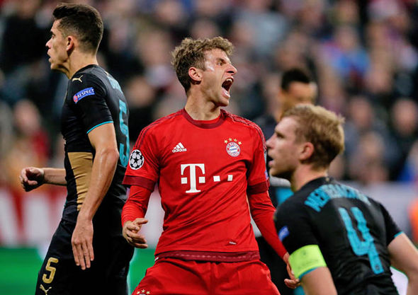 Arsenal have been knocked out twice by Bayern Munich in the past five years