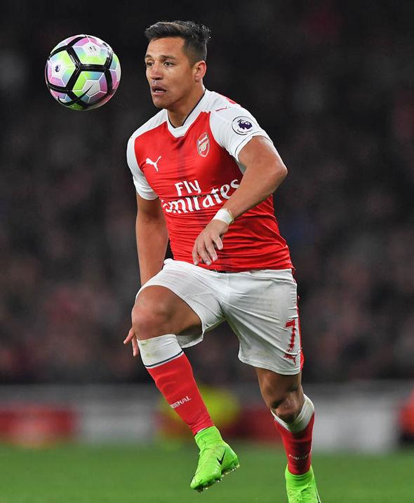 Arsenal star Sanchez