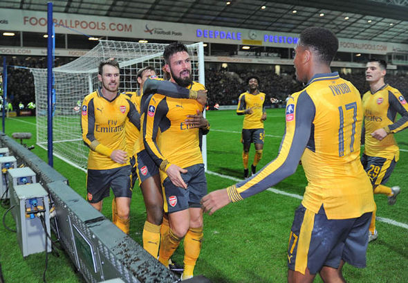 Arsenal return to FA Cup action this weekend