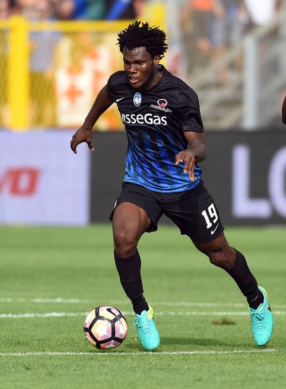 Franck Kessie at Atalanta