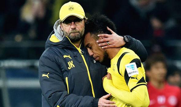 Pierre Emerick Aubameyang Borussia Dortmund Liverpool