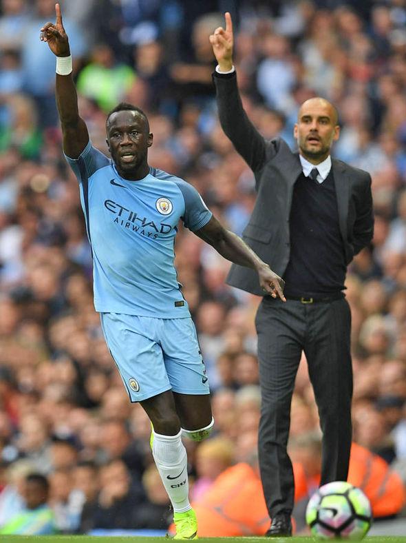 Bacary Sagna Pep Guardiola Manchester City