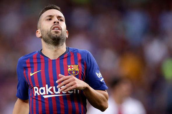 Barcelona star Jordi Alba looks set for a new contract