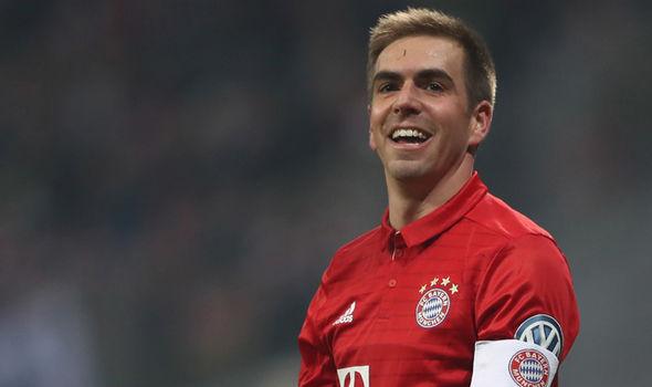 Bayern Munich skipper Philipp Lahm