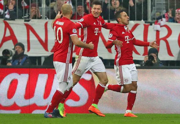 Bayern Munich v Arenal match report goals