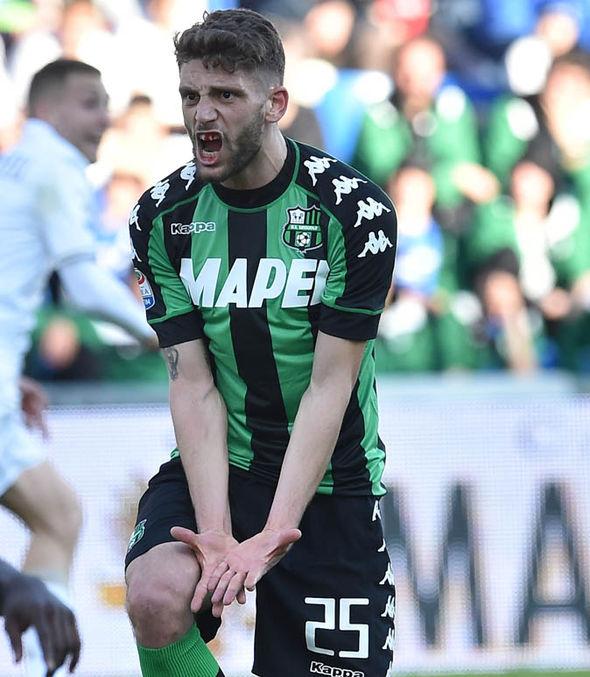 Domenico Berardi at Sassuolo