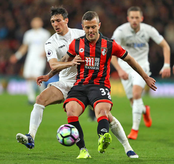 Jack Wilshere at Bournemouth