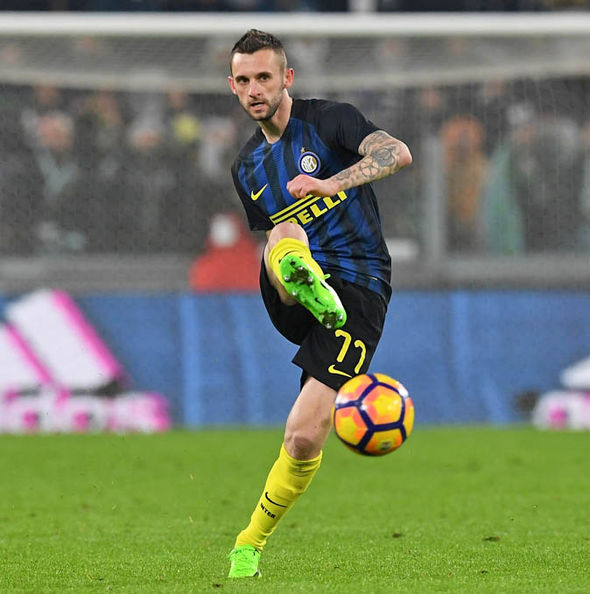 Marcelo Brozovic playing for Inter Milan