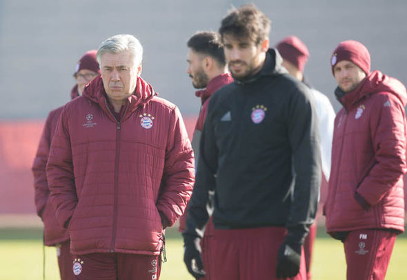 Carlo Ancelotti at Bayern