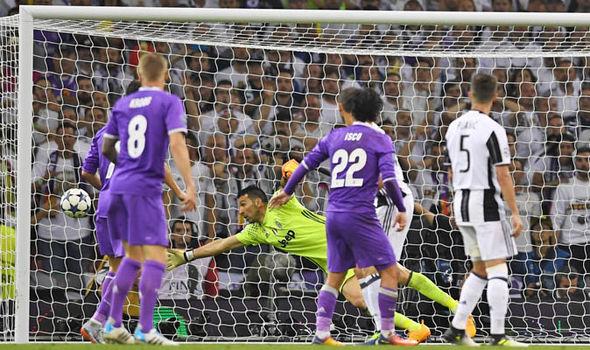 Casemiro goal